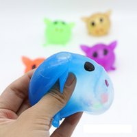 Wholesale Smash Toys Wholesale - wholesaleCute Colorful Baby Anti-stress Decompression Game Splat Ball Venting Toy Smash Various Styles Pig Styles Toys free shipping