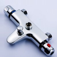 Wholesale Handles Shower Mixer - Thermostatic Shower mixer with under water spout Thermostatic faucet cold&hot shower
