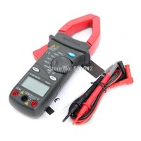 Wholesale Voltage Amp Tester - MASTECH MS2001 AC Digital Clamp Meter 1000 Amp Voltage Resistance Tester With ABS Carrying Case Warranty 18 months