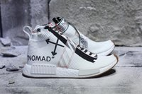 Compra Scarpe Di Moda Urbane-New nmd city calzino Mens Running Shoes luxury fashion designer bianco urbano nomade CS Primeknit Runner Outdoor designer sportivo Scarpe con scatola