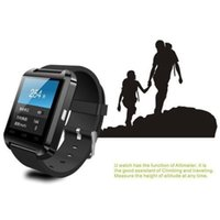 Wholesale Andriod Notes - For iPhone 6 U8 Smart Watch Newest U Watch 2 High Quality Smartwatch with Phonebook Call  MP3  Alarm 5S Samsung S5 NOTE 3 Andriod Cell Phone