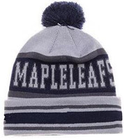 Nuovi Beanies Maple Leafs Knit Hockey Beanie Sport Knit Hat Pom Knit Cappelli Sports Cap Beanies Hat Mix Corrispondenza Ordina Tutti i Caps Top Quality Hat