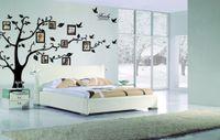 murais de fotos venda por atacado-Extra grande! 250 * 180 cm photo frame árvore retrato da família diy removível art adesivos de parede de vinil decoração mural decalque sala de estar