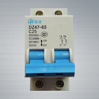 Wholesale Molded Case Circuit Breakers - [ Spot] a lot of reliable air switch 2P-25A -quality molded case circuit breakers and low voltage electrical household quality