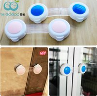Wholesale Drawers Safety Lock For Child - Via Fedex, Short Safety Lock Protection Baby safety locks Child security protective device for cupboard closet drawer 3000pcs