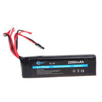Wholesale Futaba Batteries - BQY Transmitter LiPo Battery 11.1V 2200mAh 3 Connector for JR Futaba Walkera WFLY FS RC Helicopter Quadcopter Transmitter order<$18no track