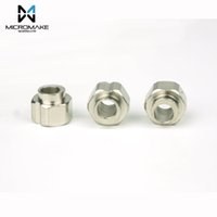 10pcs / bag Micromake 3D Printer Parts for Openbuilds Aislamiento excéntrico Spacer CNC Building Machine 10mm llave 5mm diámetro interior