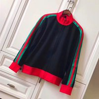 Wholesale Modern Jacket Men - red green striped famous designer luxury brand for men animal cartoon embroid tiger modern future baseball coat clothing Outerwear jackets