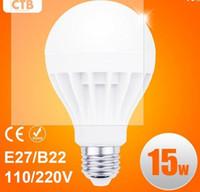 Wholesale Led Lights 12w Cheap - Wholesale Cheap Lightings Lamp Super Bright LED Bulbs B22 E27 Globe Light Bulb 5W 7W 9W 12W 15W 110V 220V CREE LED Energy-Saving Light