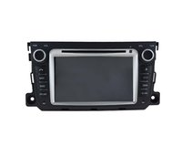 Wholesale Phone Smart Greek - car dvd gps navigation with bluetooth+built-in gps Auto Radio for Mercedes Benz Smart 2010-2014 Auto Radio car electronics dvd player