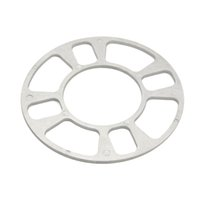 Wholesale Gps Parts - GPS 1Piece Professional Wheel Spacer Adapter 4 Hole 5mm Aluminum Wheel Fit 4 Lug 4x101.6 4x108 4x112 4x114.3 Car Universal Parts order<$18no tra
