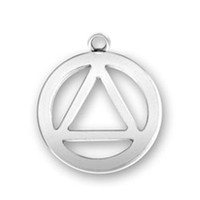 Wholesale triangle circle pendant - 50pcs lot Factory Price Antique Silver Plated Vintage Circle and Triangle Charms Pendants for Jewelry Making