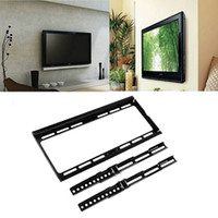 "Wholesale Rack Mounted Lcd - High Quality 26""-55"" inch TV Rack LCD TV Wall Bracket Mount Bracket LED LCD Plasma Flat Hot Search"