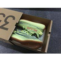 Wholesale Mens West - With Box Kanye West Boost SPLY V2 350 Semi Frozen Yellow Beluga 2.0 Zebra Cream White Copper Size 13 V2 350 Running Shoes Mens Womens Sale