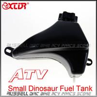 tanques de tierra al por mayor-Al por mayor- Tanque de combustible de Gas 50cc 90cc 110cc para Quad Dirt Bike Pequeño Hummer Dinosaur ATV Buggy