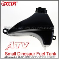 Wholesale Quad Buggies - Wholesale- Gas Fuel Tank 50cc 90cc 110cc for Quad Dirt Bike Small Hummer Dinosaur ATV Buggy