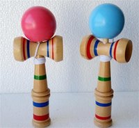 Wholesale Kendama Blue - High Quality Wooden Game Toys Japanese Kendama Ball Skill Toy Ball For Adult Gift For Children Educational Toys