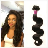 """Wholesale Great Hair Weaves - 9A Great Quality Body Wave Bundles Brazilian Peruvian Malaysian Indian 100% Human Hair Weave 10-32"""" 1 PIECE 1-3 Days Deliver Free Shipping"""