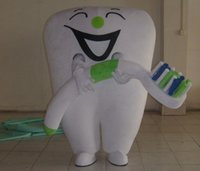 outfit ideas - TOOTH Mascot costume Adult Size Halloween Cartoon Party Outfits Fancy Dress Ideas