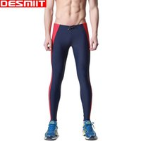 Wholesale Nylon Long Johns - Men's swimming trunks low-waist rubber band long swim trunks customize summer swimwear men's clothing long johns