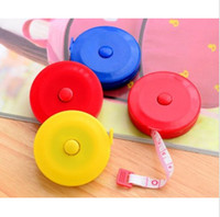 Wholesale Mini Retractable Measuring Tape - 1.5M Retractable Rulers Tape Measure 60inch Mini Sewing Cloth Dieting Tailor Brand New Good Quality Hot Sales