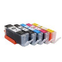 Wholesale pixma ink cartridges - PGI-750 CLI-751 compatible ink cartridge for Asian pgi-750 cli-751 PIXMA IP 7270 MG5470 MG6370 MX927 MX727 MG7170 MG5570 MG6470