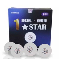Vente en gros-Nouveau matériel CELL-FREE 1- Étoiles niveau 40+ Seam PingPong Ball 100 PCS / Lot de tennis de table Ball Ball of World Games 729 B100