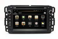 Wholesale Navigation For Gmc - Android 4.4 Car DVD Player for GMC Yukon Tahoe 2007-2012 with GPS Navigation Radio Bluetooth USB AUX MP3 Head Unit