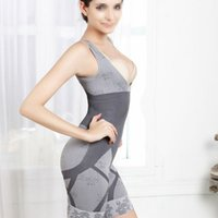 ingrosso price bamboo-Prezzo di fabbrica 100% Brand New Woman Bamboo Dimagrante Underbust Shapewear Corsetto Shaper Body Suit Vita Tummy Shaper N09