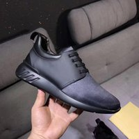 Wholesale Mens Leisure Boots - 2017 Cheap mens dress shoes designer sneakers loafers luxury brand shoes Cloth and leather intertwined fashion leisure men running shoes