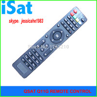 Wholesale Dvb Gprs - FREE SHIPPING QSAT Q SAT Q11G Q13GQ15G Q23G GPRS dongle Decoder DVB-S2 remote control for Africa