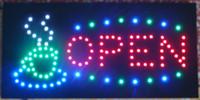 ingrosso segno del caffè principale-La luce al neon animata del caffè della tazza di caffè LED del LED ha modellato il trasporto libero semi-all'aperto di dimensione di 48cm * 25cm