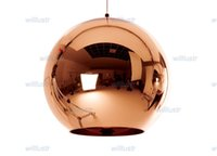 Wholesale Suspension Ceiling Light - Free shipping hot selling Tom Dixon Copper Shade (Dia 25cm),modern lamp Pendant Lamp Ceiling lamp suspension lighting