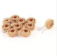 Wholesale Inductor Core - New Arrival 10pcs Toroid Core Inductor Wire Wind Wound for DIY--100uH 6A Free Shipping