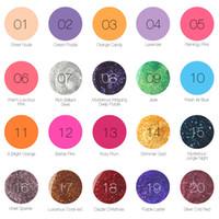Wholesale uv gel nails colors online - 6ml Women Colors Nail Gel Polish Gel Long lasting Soak off Gel Nail LED UV Summer Hot Nail Gel Stock Ready