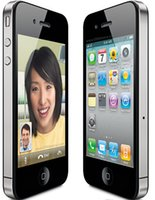Wholesale Screen Apple 3g - Original Apple Iphone 4 Cell Phone 3.5 Screen 8GB 16GB 32GB IOS7 GPS WIFI 3G Refurbished Phone