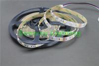 ingrosso dc flex-5M 5050 SMD RGB Bianco LED Strip RGBW RGBWW Flex LED Light strisce 5M 300LEDS Impermeabile Tube Silica 12V DC Luci natalizie