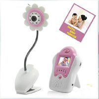 Yes Rechargeable Battery other promotion hot 2.4GHz 4ch FM digital 1.5 inch Wireless Baby monitor sunflower design monitors security colour