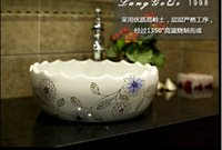 Wholesale Jingdezhen Basin - Jingdezhen art basin basin stage basin basin sink - new elegant little Daisy