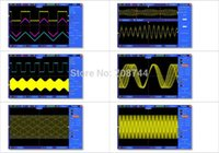 osciloscópio lcd venda por atacado-Atacado de alta qualidade! armazenamento Hantek DSO5102P Digital osciloscópio 100MHz 2Channels 1 GSa / s 7 '' TFT LCD