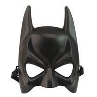 Wholesale Latex Cartoon Movies - Protagonist cosplay Novelty Half face mask Batman adult children cartoon dance party Halloween