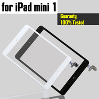 Wholesale Testing Flex - Tested well Completed For iPad mini 1 and mini 2 Touch Digitizer Screen With IC & Home Button Flex Cable Free Shipping
