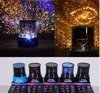 Wholesale Led Star Projector Night Light - Colorful 8 Style to Choose LED Cosmos Star Master Sky Starry Night Projector Light Lamp Kid's Good Gift