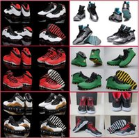 Wholesale Ladies Black Silver Shoes - 15 Colours (With Box)Wholesale High Quality Retro 10 X Oreo GS Fusion Red Oregon Ducks Lady Liberty Men's Basketball Sneakers Shoes