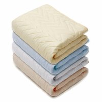 Wholesale Cover Ventilation - Wholesale-Quilted Mattress Protective Cover Rubber Stuffing Fillings Pad Thin Sanding Cotton For Four Seasons Ventilation Mattress Topper