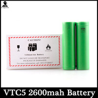 Wholesale Ion Dryer - VTC5 2600mah US18650 Battery High Dry Li-ion Battery 3.7V 30A Battery Green Color fedex shipping