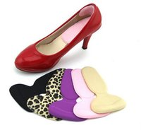 einlegesohle heiß großhandel-Hot Soft Silikon Heel Kissen Protector Fußpflege Schuh Pad Einlegesohle Fuß Behandlung Gesundheitswesen