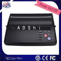 Wholesale Thermal Stencil Copier Printer - Wholesale-High quality professional A4 transfer paper original top quality tattoo thermal copier stencil thermal tattoo printer machine