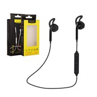 S6 Drahtlose Bluetooth Headset SPORT Stereo In-ohr Kopfhörer mit Mic In-ohr Kopfhörer Kopfhörer Outdoor Sport Laufende w Box für iPhone Android