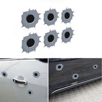 Bullet Hole Shot Hole Stickers auto autocollants pour autocollants